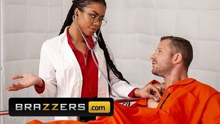 Brazzers - Hot Doctor Kira Noir Fucks her Prison Mate Patient Scott Nails